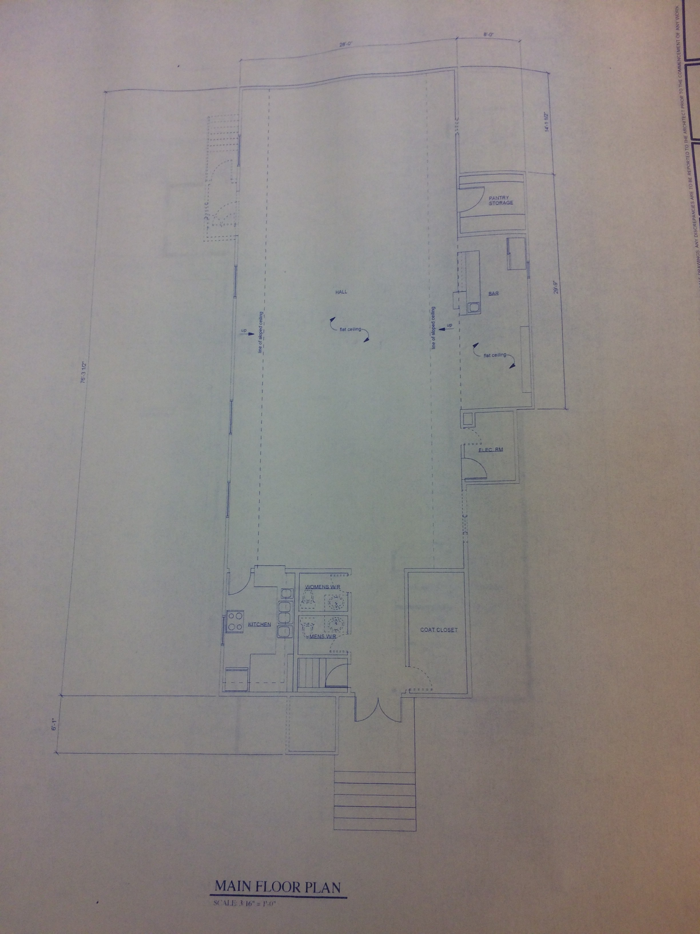 Upper Hall Tuxedo Park Blueprint