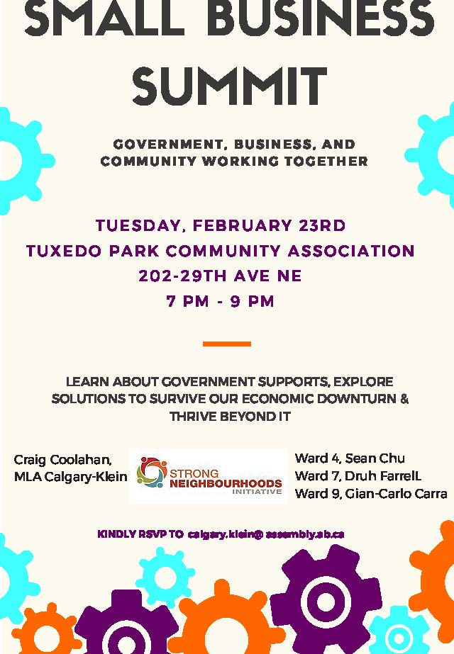 Tuxedo Park SMALL BUSINESS SUMMIT